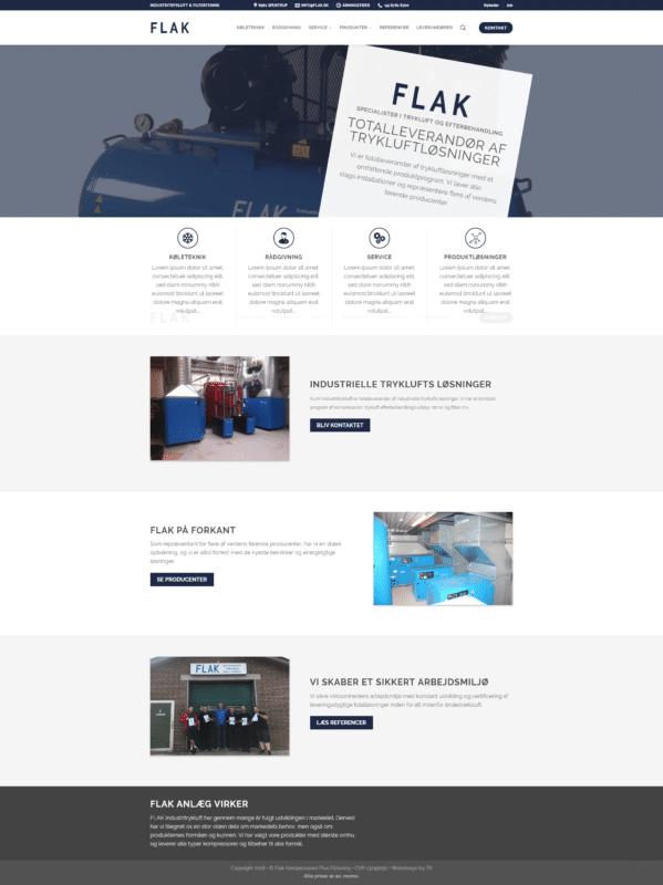 Webshop case - Flak
