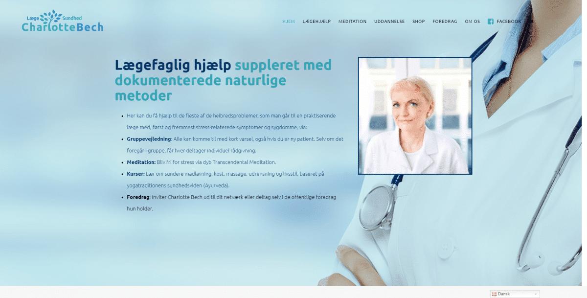 Webshop Case Lægehjælp Meditation Ayurveda I Læge Charlotte Bech