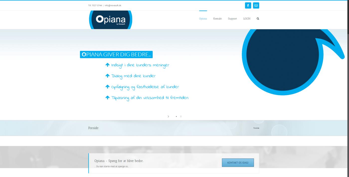 Hjemmeside Case Opiana I Spørg for at blive bedre.. – Hvis andres mening tæller
