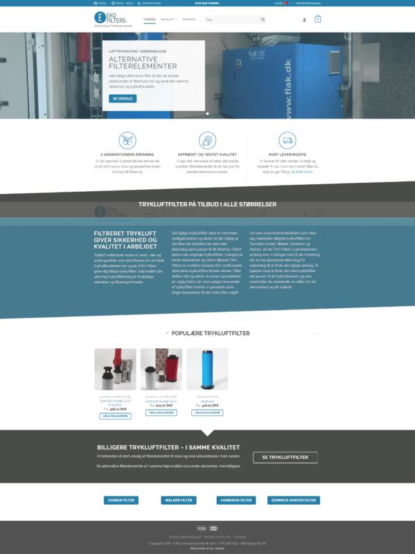 Case Trykluftfilter -40% • Tilbud på filtre i kendt Kvalitet • Kun B2B salg
