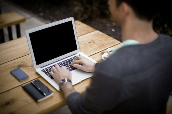 Webshop og Hjemmeside kontor baggrund